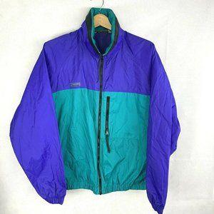 Columbia Sportswear Mens Windbreaker Jacket Hood L
